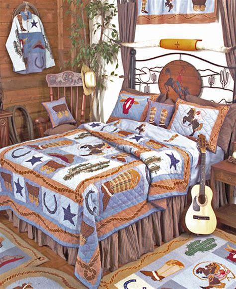 Cowboy By Patchmagic Quilts Beddingsuperstore Com Cowboy Bedding