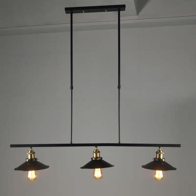 3 light kitchen island pendant industrial style chandelier