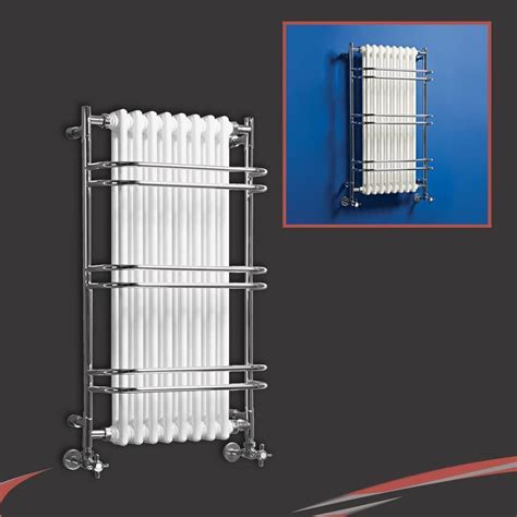 bathroom radiators high btus traditional designer chrome heated towel rails