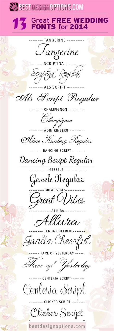 Wedding Fonts Commercial Use by Best 25 Fonts Ideas On Free Fonts