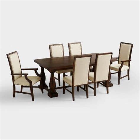 Greyson Dining Table Rectangular Java Greyson Extension Table World Market