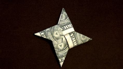Origami Out Of A Dollar - dollar origami how to make a dollar
