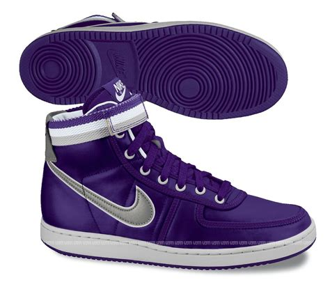 nike vandal supreme nike vandal high supreme vntg purple silver