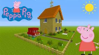 minecraft tutorial how to make peppa pigs house quot peppa