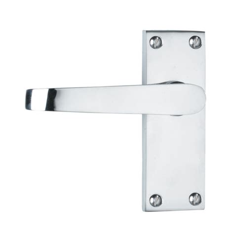 Interior Door Handles B Q B Q B Q Value Interior Door Handle Polished Chrome Effect Pack Of 3 Customer Reviews Product