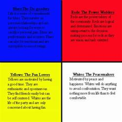 color personalities true colors personality test related keywords true