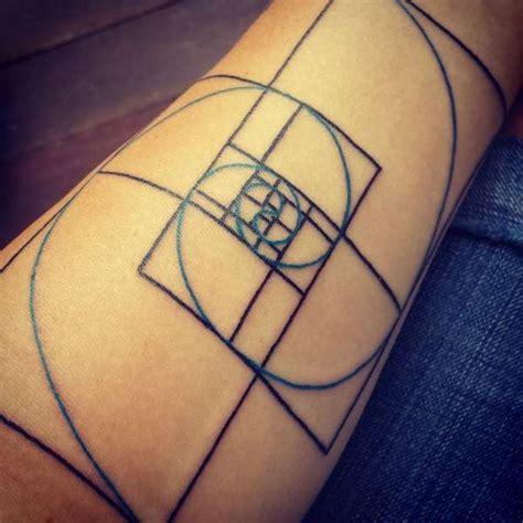 fibonacci spiral tattoo fibonacci spiral