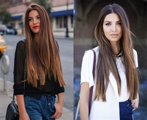 fantastic long straight hairstyles  fall  love
