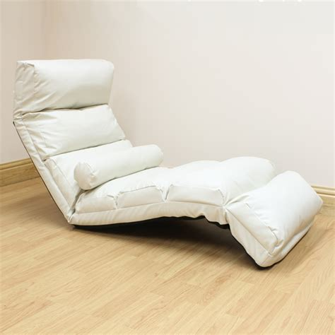 cream chaise lounge chair cream lounger chaise longue day bed adjustable lounge seat