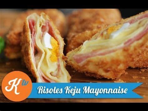 membuat risoles keju mayonnaise    cheese