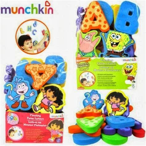 Collection Sponge Mandi Punggung cik puan mimi floating foam alphabet spongebob and