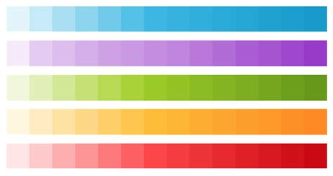 material design color schemes holo vs material design colors