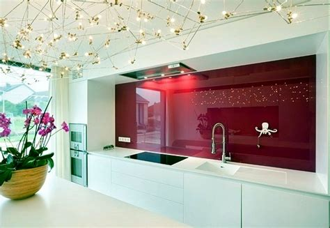 glass wall kitchen modern glass kitchen splash back wall designs offer