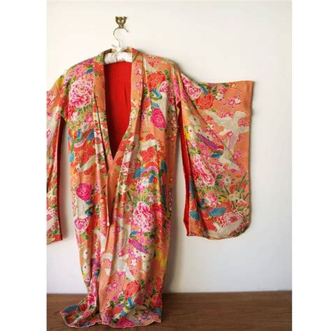 pattern for kimono dressing gown vintage silk kimono colorful floral pattern dressing gown