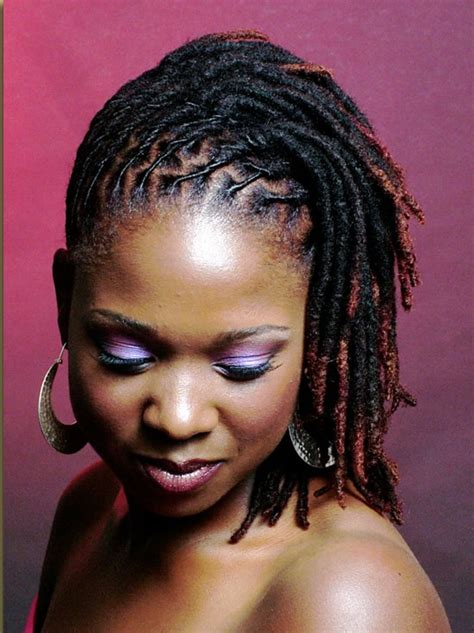 pics of black women hairstyles to wear to jamaica short dreadlock styles for black women dreadfully