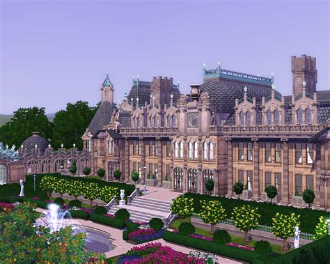 House Plan Additions by Why Plumbobs Are Green Waddesdon Manor Project