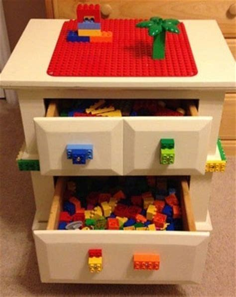 a bedside table modifies into a lego desk 28 household