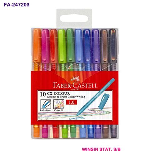 Bolpen Fabercastell 1 0 Cx Colour winsin stationery sdn bhd
