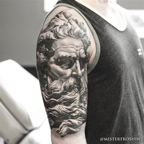 poseidon tattoo design 25 best ideas about zeus on mens