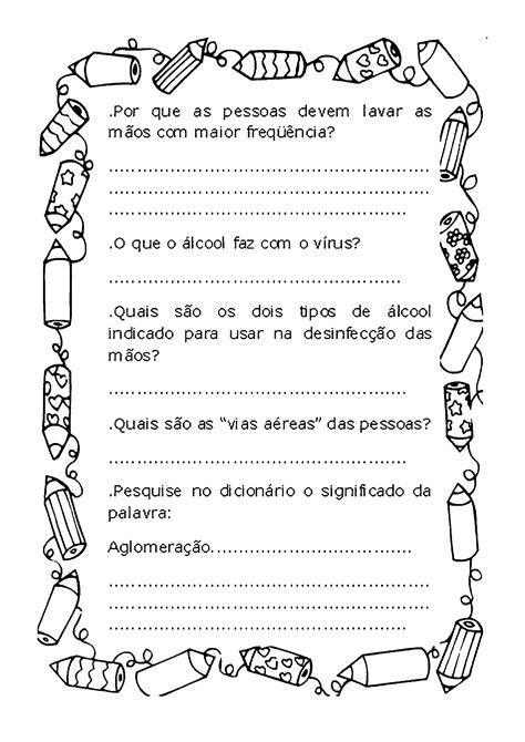 Texto da gripe H1N1 com atividades - Só Atividades