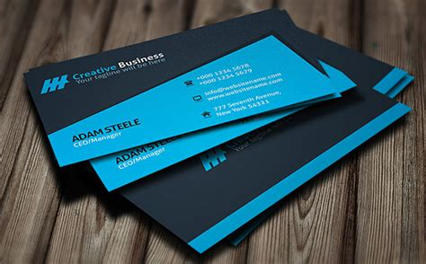 business card template creative 28 personal business cards free premium templates