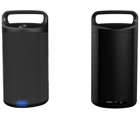 ilive bluetooth outdoor speaker isbw2113b the home depot