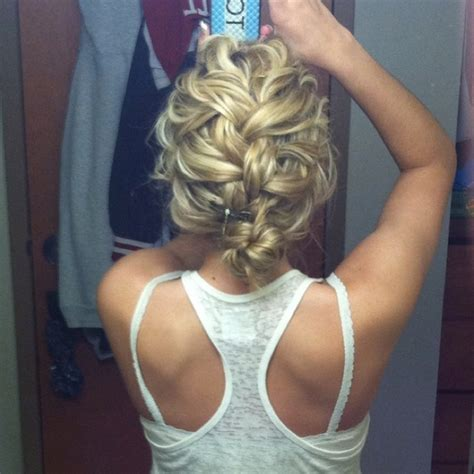 french braids pin up on the sid for black woman cute messy french braid make up pinterest