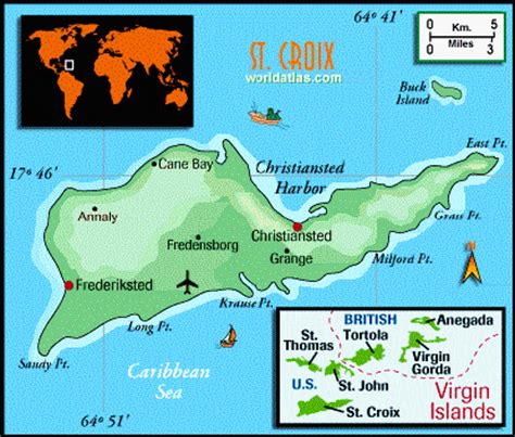 st croix us islands map st croix map us islands maps aerial views of