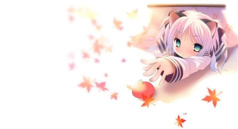 cute anime neko girls wallpapers top  cute anime