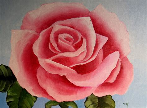 acrylic painting roses nel s everyday painting roses searching for simple
