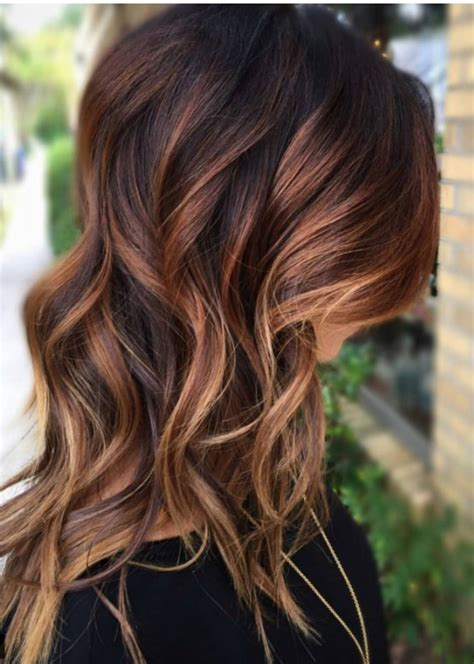 brunette and red hair pictures hombre brownread lightblond hombre hair styles pinterest