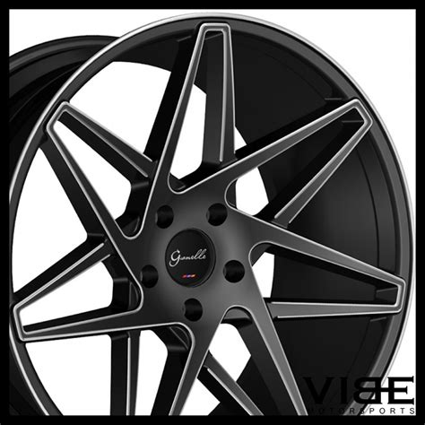 bentley continental rims 22 quot gianelle parma black concave wheels rims fits bentley