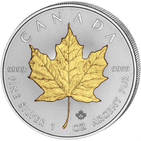 1 oz 2017 canadian maple leaf silver coin buy 2017 1 oz silver canadian maple leaf gilded coins