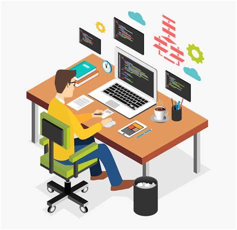 technologies  work  illustration computer business