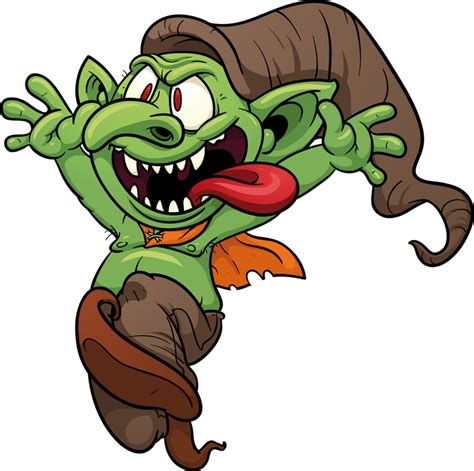 Troll Clipart troll vector clip illustration with