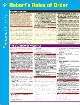 Robert S Rules Of Order Sparkcharts Sparknotes