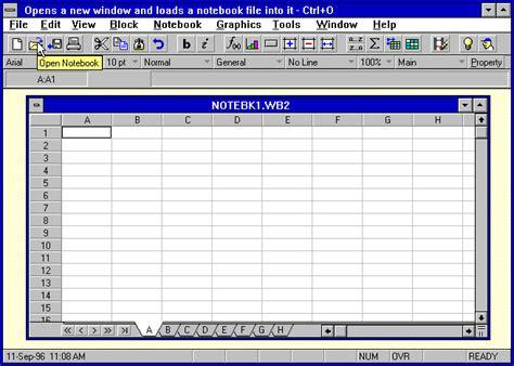 Quattro Pro Spreadsheet by Quattro Screen Htm