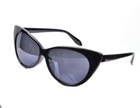 60s fashion glasses vtg 50s 60s style black cats eye glasses sunglasses new