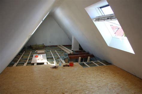 spitzboden ausbauen beispiel 2 komplettsanierung eines geschosses mit ausbau