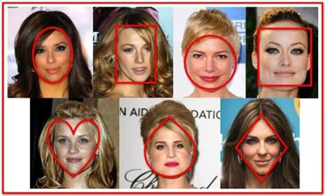 best face shape for models choose a hairstyle that suits your unique face shape