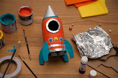 How To Make A Paper Rocket For School Project - transform a bottle into a rocket sainsbury s
