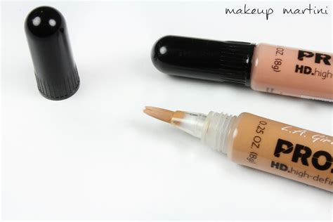 La Pro Concealer Hd la pro conceal hd concealer review dupe swatch price