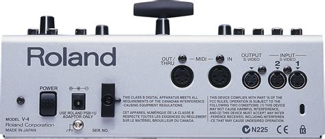 Mixer Edirol V4 roland pro mixer 4 channel v4 mixer with