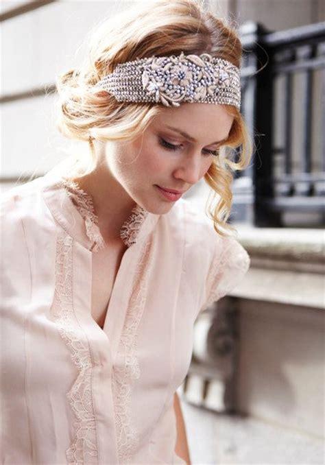 hairstyles with elastic headband katniss silver beaded elastic headband with by