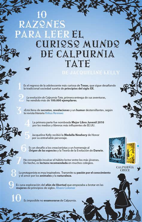el mundo es nuestro libro para leer ahora 10 razones para leer el curioso mundo de calpurnia tate roca libros