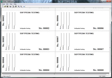 Raffle Ticket Templates Free Search Results Calendar 2015 Staples Printable Tickets Template 19883