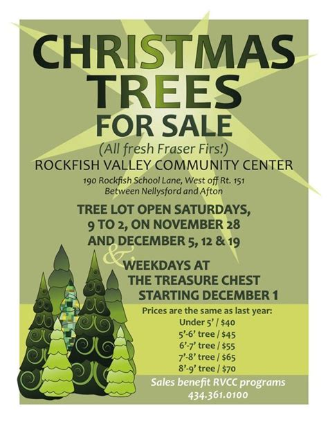 rvcc sells trees again for second year 11 27 09 blue ridge magazine