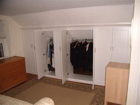 Knee Wall Closet Ideas closet for the home