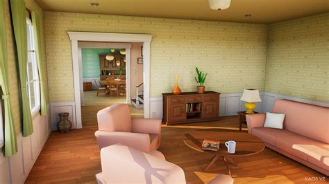 house by kaos vr in environments ue4 marketplace