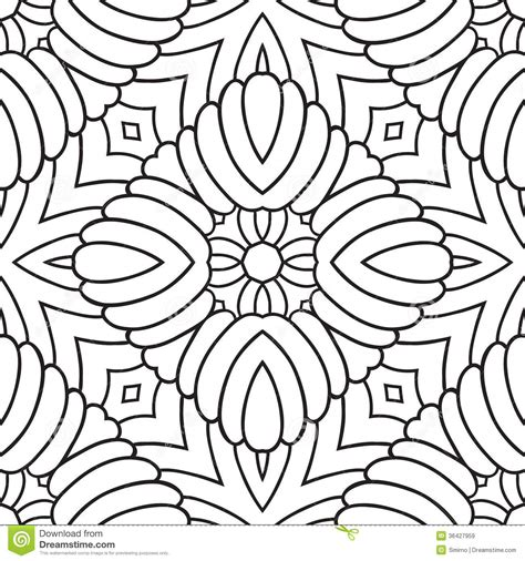Oriental Pattern Black And White | black and white oriental pattern royalty free stock images
